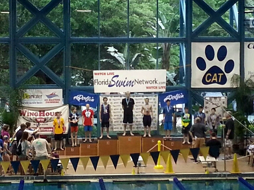 1st place and national age group record Vincent Marciano